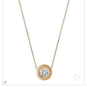 Michael Kors Gold Pendant Necklace